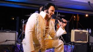 Elvis (Andy Svrcek) w/The Large Flowerheads - Coplay - August 24, 2014
