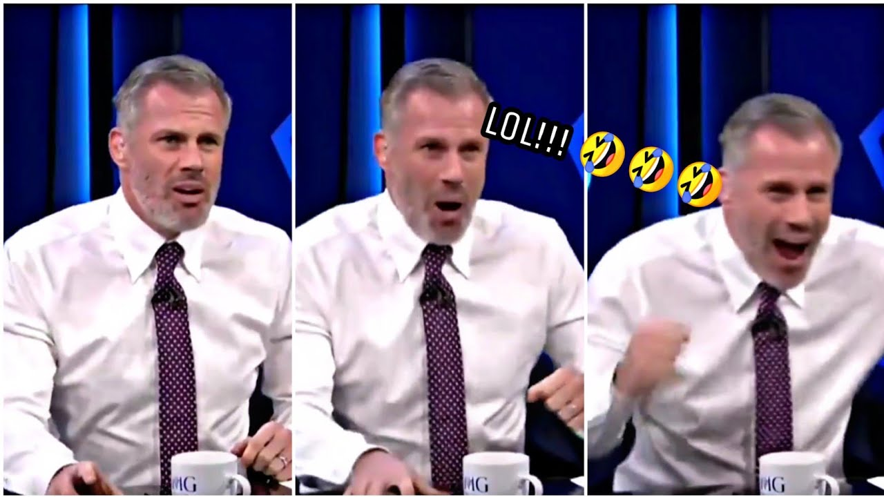 Jamie Carragher's Funny Reaction To Henderson's Brilliant Strike😂