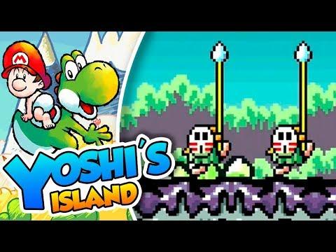 ¡El territorio Shytribal! - #06 - Yoshi's Island (SNES mini) DSimphony