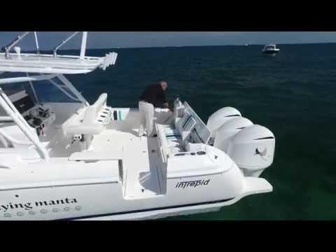 Intrepid 40 Cuddy - Custom Dive Boat