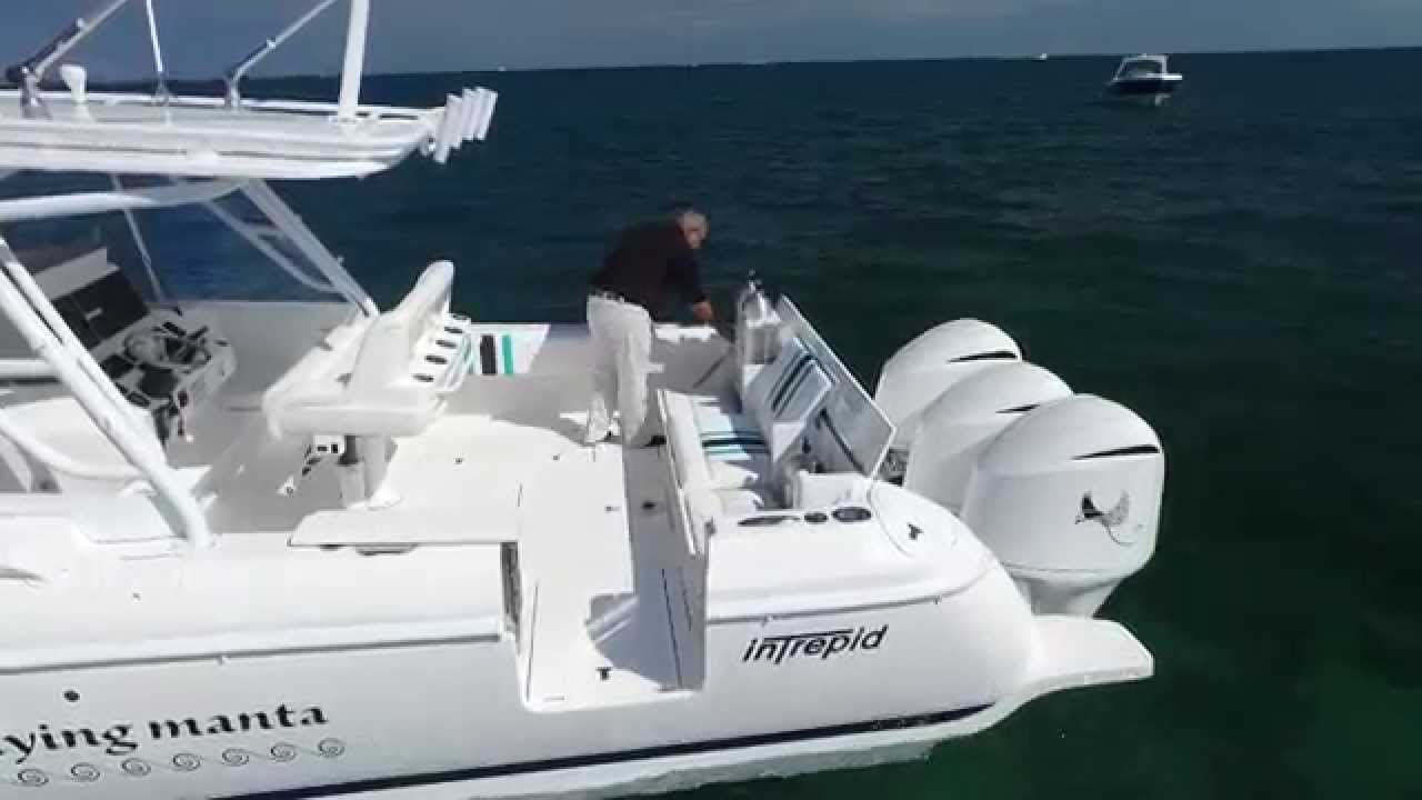 Intrepid 40 Cuddy Custom Dive Boat Youtube