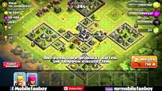 Komik köy düzenlemeleri Clash of Clans