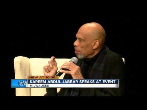NBA legend Kareem Abdul-Jabbar discusses Islam at Milwaukee Theatre