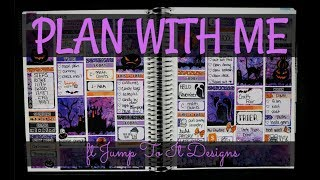 Plan With Me | ft Jump To It Designs Inc - Halloween Night