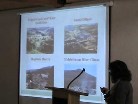 Division of Reclamation, Mining & Safety   Prospecting, Mining and Reclamation Regulation in Colorado part 1