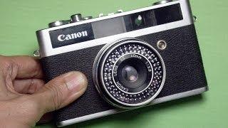 キャノン キャノネットジュニアの使い方 CANON CANONET JUNIOR How to use 1960s visual distance estimation camera