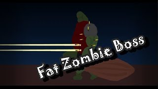 Creating Fat Zombie Boss | Speedart | Stick Nodes