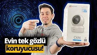 240 liraya evi koruyan EZVIZ C6N Wi-Fi akıllı kamera inceleme!