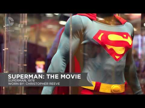 SDCC 2013: Superman Costume Booth Tour