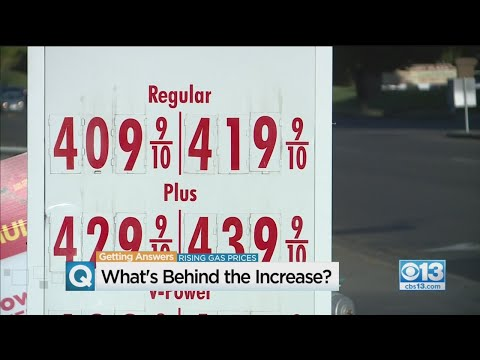 What's Behind The Gas Price Increase?