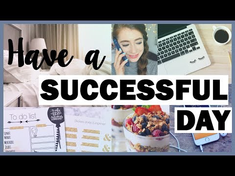 10+ Habits For A Successful Day | Morning Routine Tips & Advice To Start A Productive Day RIGHT!