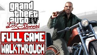 Grand Theft Auto 4 THE LOST AND THE DAMNED Full Game Walkthrough - No Commentary