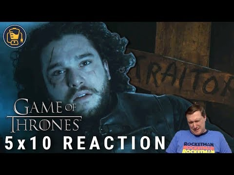 """Game Of Thrones Reaction   5x10 """"Mother's Mercy"""""""