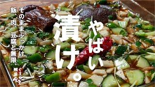 【感謝150万回再生シリーズ】野菜を切って漬けるだけで、大量にたべられてしまう。~おまけ付~