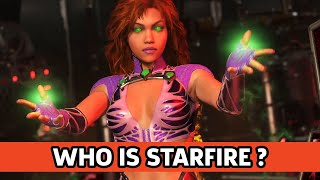 Who is Starfire? Injustice 2 Character Backstory