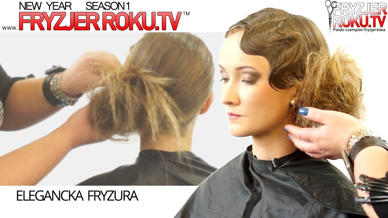 Upięcie Długich Włosów W Stylu Retro Vintage Hairstyle Fryzjerroku