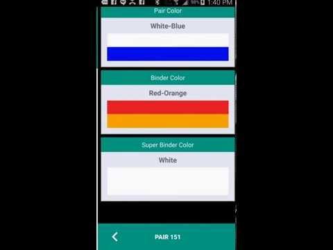 The Telecom Color Code PRO
