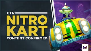 Crash Team Racing Nitro-Fueled: Nitro Kart Tracks And Content Announced Plus Retro Skins Revealed