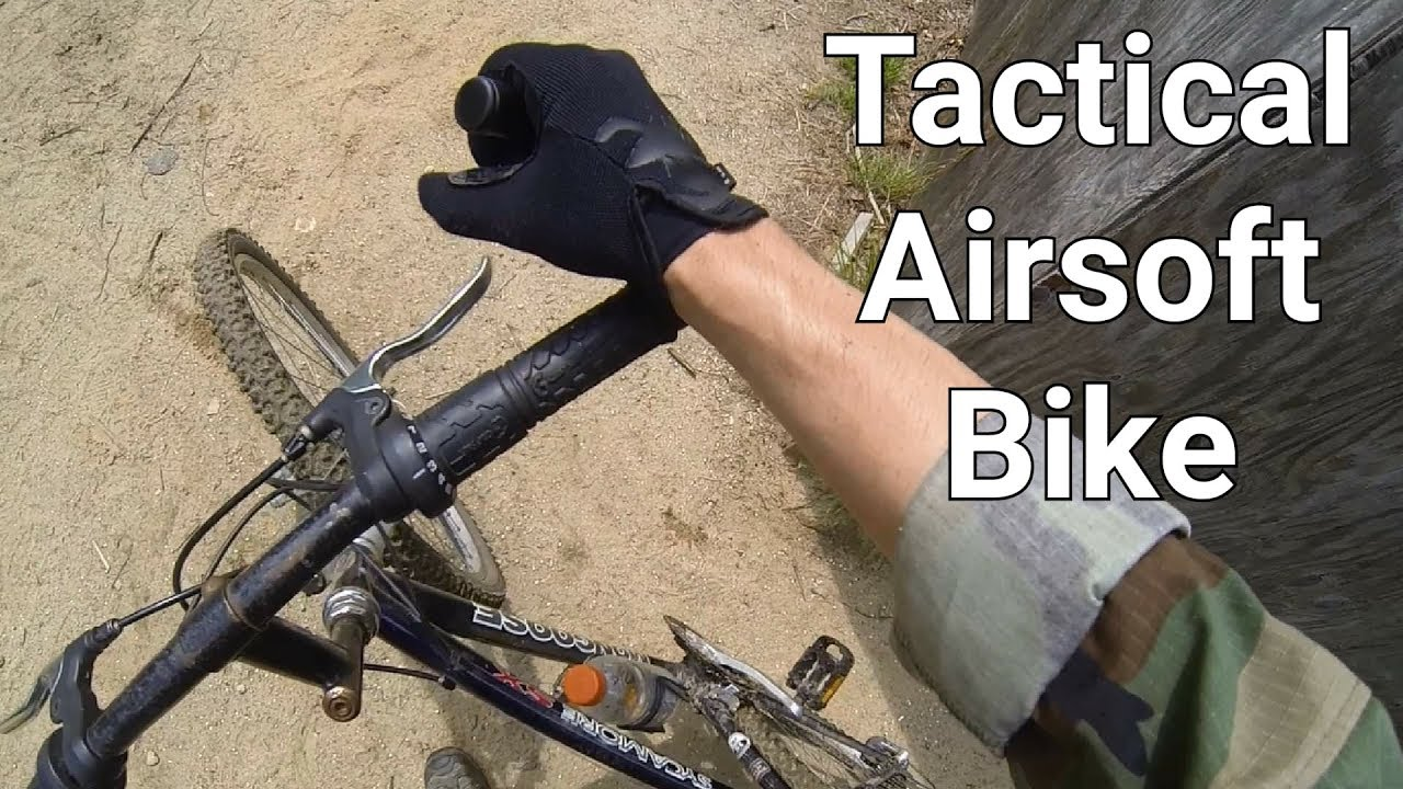 Tactical Airsoft Bike