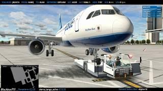 [XP11] - FF320 Alberquerque/KABQ to Los Angeles/KLAX [PilotEdge]
