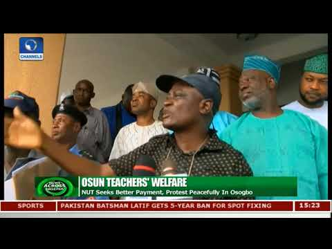 NUT Seeks Better Payment, Protest Peacefully In Osogbo | News Across Nigeria |