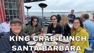 King Crab Lunch at Santa Barbara Shellfish Company