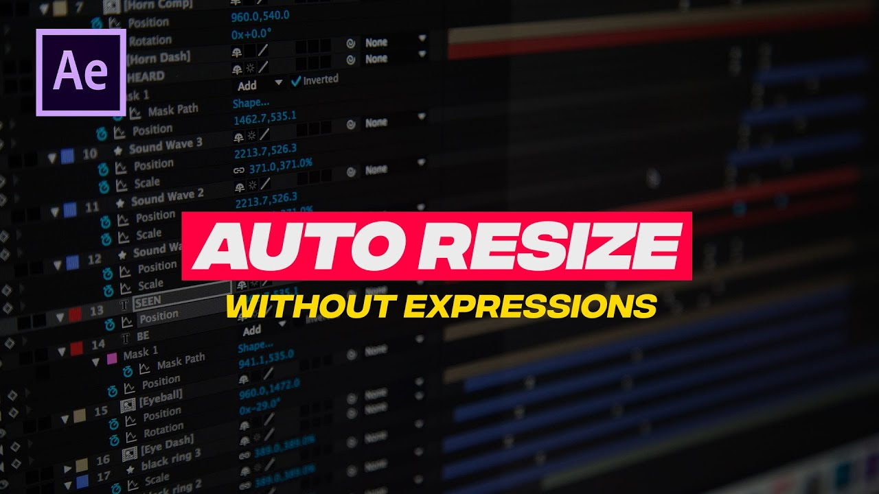 Create Auto Resizing Text Box Without Expressions in After Effects