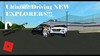 ROBLOX - Ultimate Driving NEW EXPLORERS!!!