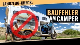 So sollte man keinen Offroad-Camper bauen (Fahrzeug-Check)