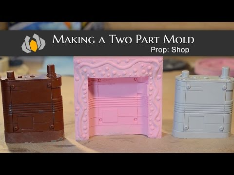 Prop: Shop - Molding & Casting 101: How to Make a Two Part Mold