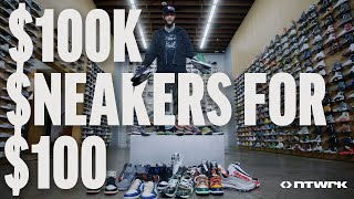FaZe Banks Spends $100,000 Shopping for Rare Sneakers at Flight Club! You Can Win Them All!