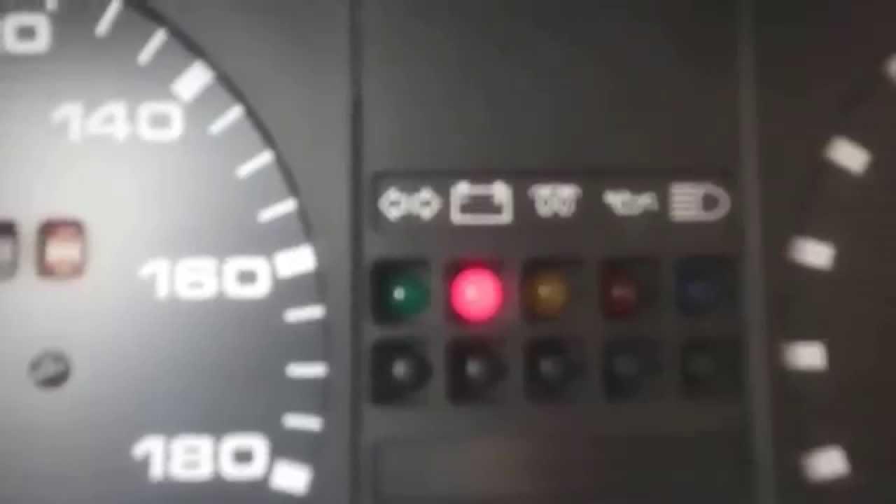 Горит лампочка аккумулятора фольксваген транспортер снять броню с инкассаторской машины транспортер