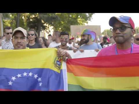 Refugiados en el World Pride 2017