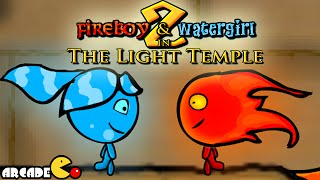 Fireboy And Watergirl   The Light Temple Walkthrough All Levels