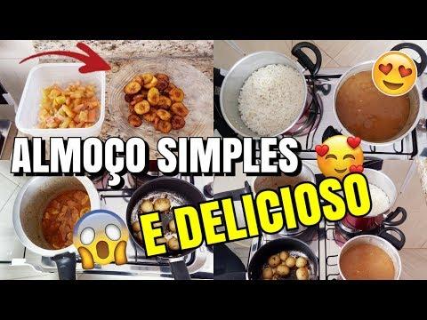 PREPARANDO NOSSO ALMOÇO SIMPLES E MUITO GOSTOSO ❤ - Tati Pereira thumbnail