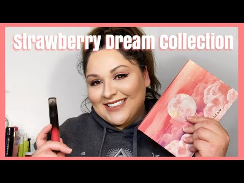 Lunar Beauty Strawberry Dream Collection | Tutorial & Review | Katelin Rivera thumbnail
