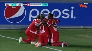 América vs. Jaguares (2-1) | Liga Aguila 2018-II | Fecha 8