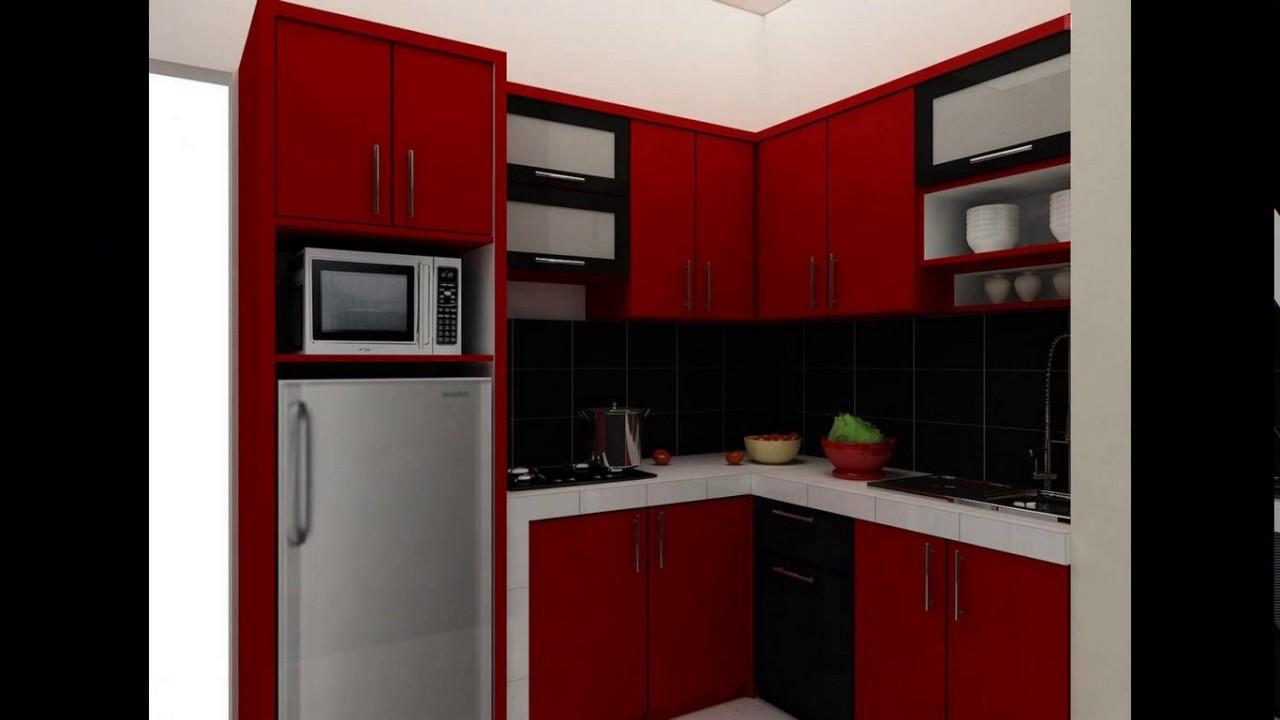 Design Kitchen Set Untuk Dapur Kecil Youtube