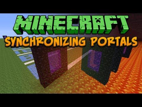 Minecraft: Synchronizing Portals Tutorial