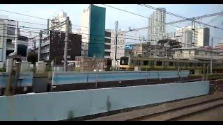 189系 あずさ71号 松本行き 新宿駅発車後車内放送