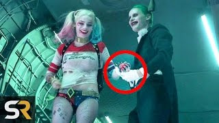 10 SUICIDE SQUAD Movie Secrets With Joker and Harley Quinn!