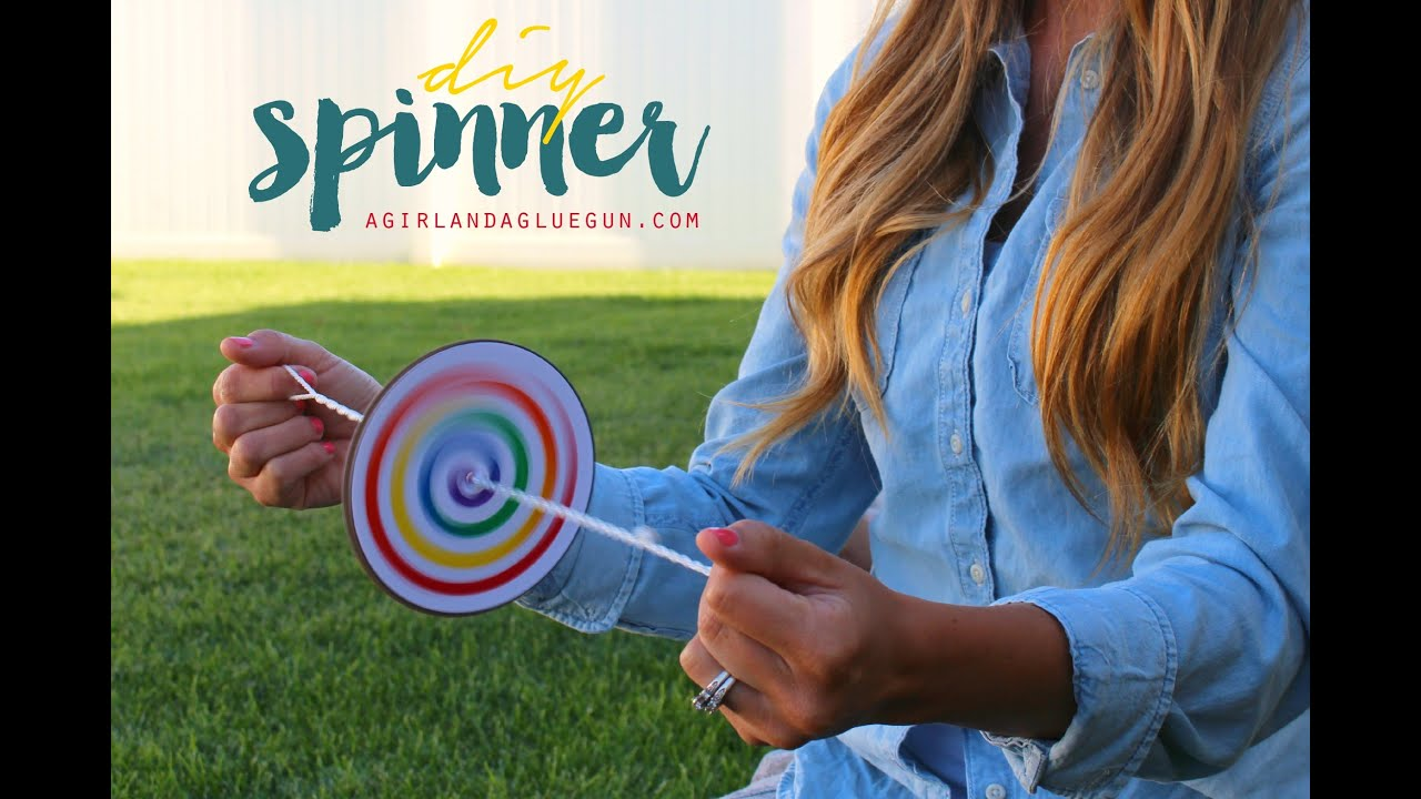 Diy kids craft spinner youtube diy kids craft spinner solutioingenieria Image collections
