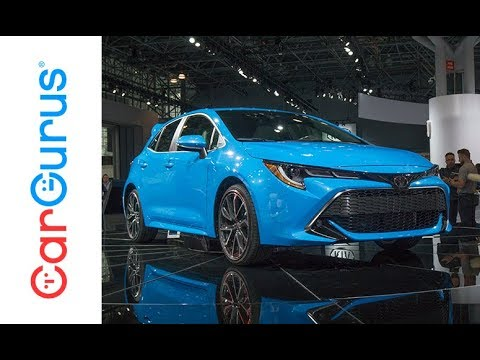 2019 Toyota Corolla Hatchback 2018 New York Auto Show Youtube