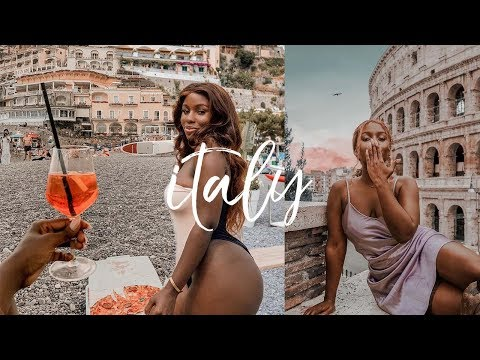 ITALY VLOG -  I DID NOT EXPECT A TRIP LIKE THIS..NAPLES, POSITANO, ROME