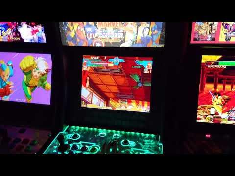 SosaFamBamBam - Arcade1Up - Marvel vs Capcom - Unboxing & Review from SosaFamBamBam