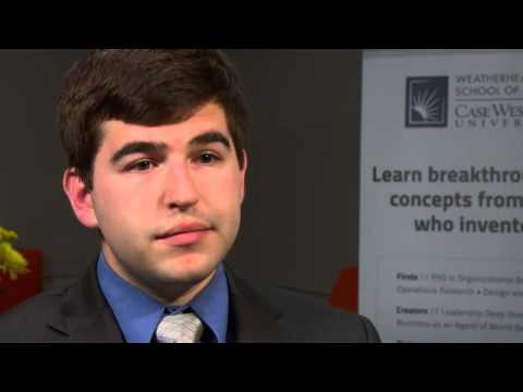 Full-Time MBA Student Brian Mouille at the Weatherhead School of Management