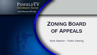 2017 02 16 pen zoning board of appeals meeting