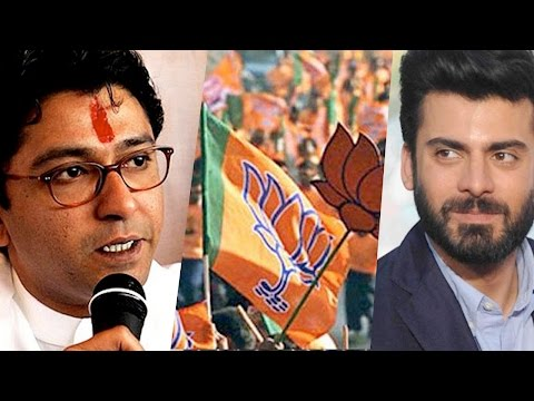 After MNS, BJP Protests Against Pakistan Artistes, And Threatens Them With This!