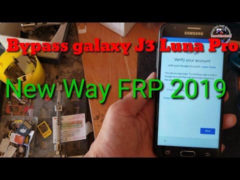 Bypass Galaxy J3 Luna Pro