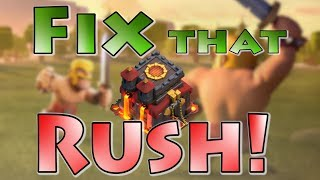 Fix That Rush with a Pro! | How to Fix Rushed TH10 | Clash of Clans Rushed Bases